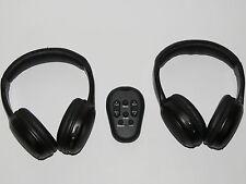 2 HEADPHONES & DVD REMOTE 2002 - 2005 Chevrolet Venture, Oldsmobile Silhouette