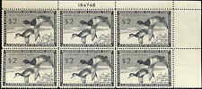 RW21 1954 FEDERAL DUCK STAMP PLATE BLOCK  VF NH PRICED AT WHOLESALE   pb26