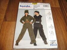 BURDA-EASY Schnittmuster 2648          2x  JOGGING-ANZUG/KAPUZE          122-146