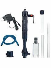 Electric Aquarium Water Change Pump Cleaning Tool Clean Siphon Fish Tank Filter