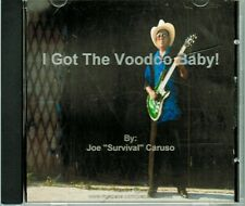 """I Got the Voodoo Baby by Joe """"Survival"""" Caruso (CD, 2010)"""