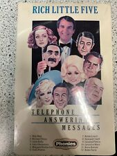 Rich Little No. 5 (Cassette) Telephone Answering MessagesTransferable to iPhone