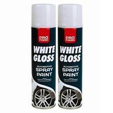 12x All-Purpose Aerosol Spray Paints Gloss Matt Metallic Primer Varnish 300ml DW