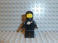 LEGO® Classic Space Figur Astronaut schwarz mit Airtank aus 6985 6891 6971 F01