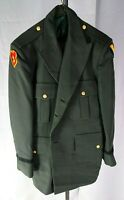 Vintage Army Dress Uniform Jacket & Pants Made by Patriot USA MT