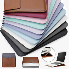 Pu Leather Laptop Sleeve Bag Pouch Case Cover For Macbook 11'' 12'' 13'' 15 inch