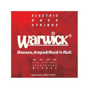 Warwick 46220-EL4 - Red Label Extra Light .030-.090 Jeu basse