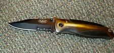 """Sheffield  superior folding knife, 3"""" stainless steel clip point, good lock back"""