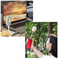 USB Powered Air Cooling Fan Flexible Goose Neck Air Cooler Desk Silent USB Fans