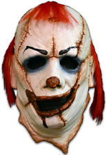 Trick Or Treat Clown Skinner Face Scary Following Halloween Costume Mask JM113
