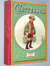 CHATTERBOX 1923 Vintage Children's book Adventure Stories, Sports, Hunting, &c.