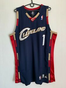 RARE Cleveland Cavaliers GIBSON NBA BASKETBALL SHIRT JERSEY CAMISETA ADIDAS