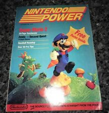 EXTREMELY RARE NINTENDO POWER #1 ISSUE SOME WRITING INSIDE SUPER RARE!!