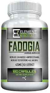 FADOGIA - 120ct - 425mg -10:1 Extract - by Element Nutraceuticals