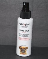 WELL & GOOD WOUND SPRAY FOR DOGS, (4.0 FL, OZ) NEW WOUND SPRAY FOR DOGGS.