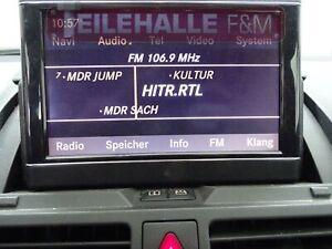 Mercedes S204 W204 Bordmonitor ausfahrbar Navi Bildschirm Comand A2048204697