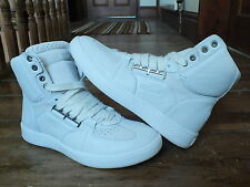 Mens White PUMA ALEXANDER McQUEEN JOUST HIGH TOP TRAINERS,New, UK7.5,SRP £279(1)