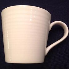 Pair of 2 Beautiful Gordon Ramsay Royal Doulton Large White Maze Coffee Mugs