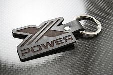 Mg x power porte-clés en cuir keychain schlüsselring porte-clés zt zs zr tf ztt V8