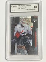 Roberto Luongo 1997-98 UD Black Diamond NHL Rookie RC Card GMA GEM MINT 10