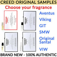 Creed Original Samples -  Aventus Viking Green Irish Tweet Original Santal 2.5ml