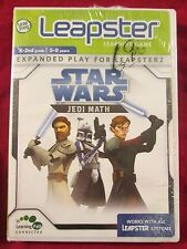 Leap Frog - Leapster Learning Games - Star Wars - Jedi - Math New
