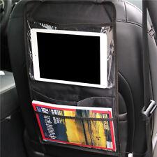 Car Seat Back Multi-Pocket Organiser Storage Bag Holder Hanging for iPad Tablet