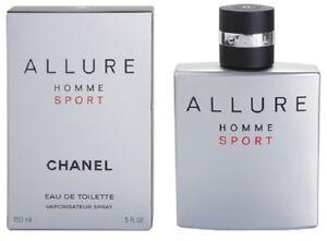 CHANEL ALLURE HOMME SPORT 5 oz Eau De Toilette EDT Spray, NEW, SEALED