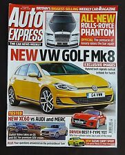Auto Express,  August 2017, VW Golf Mk 8, Best F-Type Yet, Volvo Takes On Q5 GLC