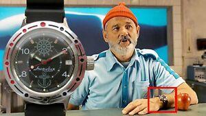 Steve Zissou Wrist Watch (Wes Anderson's Life Aquatic) Vostok Amphibia