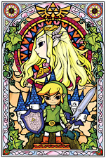 Poster A2 The Legend of Zelda The Wind Waker Link Videojuego Videogame 03