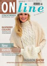 ONline Strickheft Stricktrends Ausgabe 45 Winter 2016/2017
