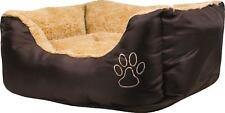 Piccolo letto per Animali 60 CM x 50 CM x 18 cm-extra soft confortevole con Cuscino per animali domestici