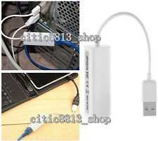 1*USB2.0 To RJ45 Lan Network Ethernet Adapter Card Dongle For Mac Android Tablet