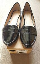 Zara flat black shoes