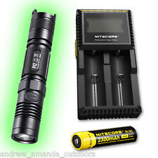 Nitecore P12 2015 Edition XM-L2 LED Flashlight - w/D2 Charger & NL183 18650