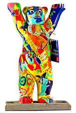 Buddy Bear Berlín bärenbär nuevo/en el embalaje original 22cm decorativas oso m. placa de vidrio regalo souvenir