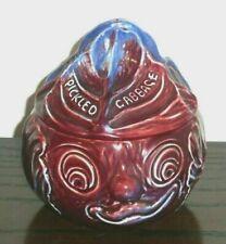 More details for novelty faced sylvac ceramic pickled cabbage pot no 4755