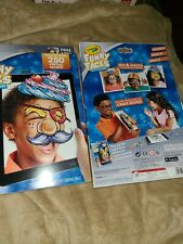 Crayola crazycostume Funny faces 250 virtual Mask toy interactive coloring pages