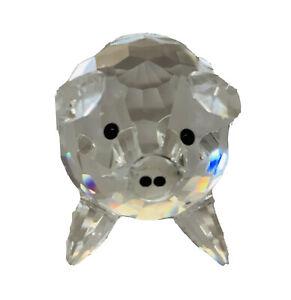 Swarovski crystal figurine PIG