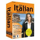 Learn How To Speak Italian With Instant Immersion Levels 1-3 Retail Box