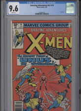 AMAZING ADVENTURES V2 #14 NM 9.6 CGC WHITE PAGES X-MEN FEATURE LAST ISSUE GEM
