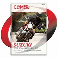 1972-1977 Suzuki GT750 Repair Manual Clymer M368 Service Shop Garage