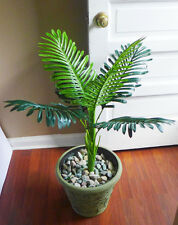 Artificial Palm Tree 6 Leaves Paradise Bush Plants