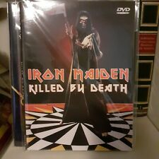 iron maiden dvd video live killer by death digipack new rare!!!!