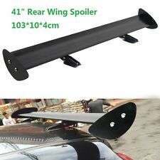 105cm Universal Adjustable Aluminum Light Weight GT Rear Racing Spoiler Wing