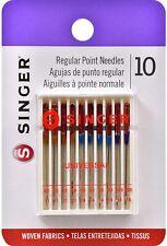 Singer 4790 Universal Regular Point Sewing Machine Needle Assorted Sizes (10)