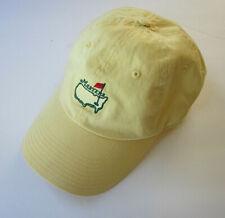 AMERICAN NEEDLE Master Yellow Logo Golf Baseball Cap Hat Adjustable