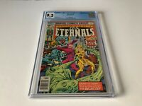 ETERNALS 8 CGC 9.2 WHITE PAGES KRONA THENA REJECTS MARVEL COMICS 1977