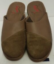 WOMEN'S ROMIKA TAUPE~SLIDES~CLOGS~WEDGES~SHOES~SIZE 8.5/39~EXCELLENT CONDITION